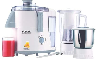 Borosil Primus – 500 Watt – Juicer Mixer and Grinder