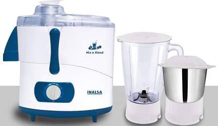 Inalsa Juicer Mixer Grinder 550 watts motor