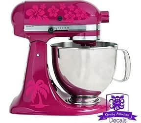 Overly Attached Flower Patter Stand Mixer